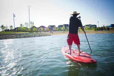 paddle board instruction video