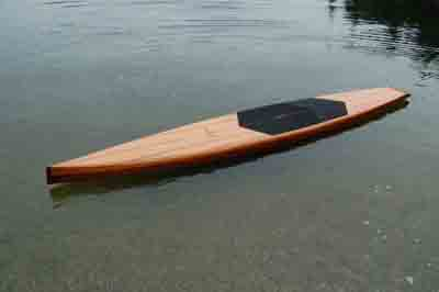 Custom Wood Stand Up Paddle Boards Beauty And Performance