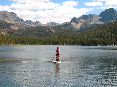 Lake Mary near Mammoth Lakes California
