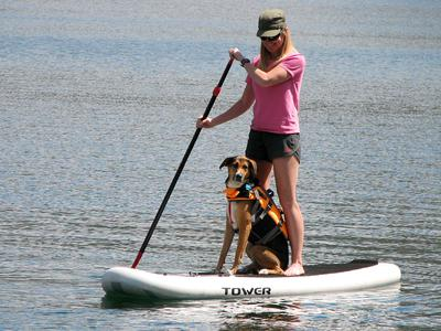 Marley's first SUP
